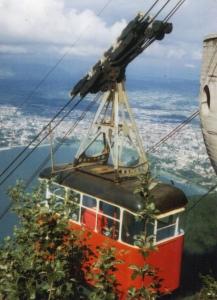 Le téléphérique de Veyrier-du-Lac